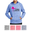 Sport-Tek Youth PosiCharge Electric Heather Fleece Hooded... - Youth electric heather fleece hoodie with PosiCharge technology and moisture wicking.