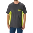 Workwear Color Blocked Visibility T-Shirt - Workwear T-Shirt