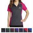Sport-Tek Ladies' Colorblock Micropique Sport-Wick Polo - Moisture-wicking polo for ladies with color blocked shoulders, sleeves, and sides.