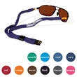 XL Suiter Combo Lanyard & Eyewear Retainer Strap, Solids - Longer length combo featuring plastic insert. Made of knitted cotton yarn.