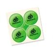 "Quad-Dots® Reflective Sticker Set - Set of four Quad-Dots 3/4"" reflective stickers in assorted colors."