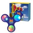 Light-Up LED Fun Spinner With Custom Window Box