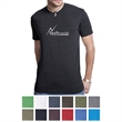 Next Level Men's Triblend Crew - Men's crew neck T-shirt made of a triblend of polyester, combed ringspun cotton, and rayon.