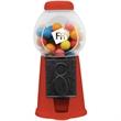 "3-1/2""x3-1/2""x6"" RED Gumball- Candy Dispenser Machine"