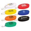 Oval Soft Floater Keychain