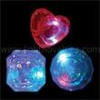 Light Up Ring - Large Gem - Red White & Blue - Light Up Ring - Large Gem - Red White & Blue
