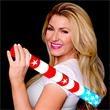 Light Up Cheer Sticks - Foam - Stars & Stripes - RWB LEDs - Light Up Cheer Sticks - Foam - Stars & Stripes - RWB LEDs