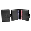 Leather Playing Card Case - Leather Playing Card Case.
