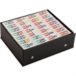 Double 18 Color Number Dominoes - Double 18 Color Number Dominoes.