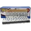 Double 6 Two Tone Jumbo Domino Set - Double 6 Two Tone Jumbo Domino Set.