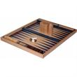 """19"""" Blue Non-Folding Beech Backgammon - 19"""" Blue Non-Folding Beech Backgammon."""