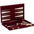 """18"""" Burgundy Velvet Backgammon - 18"""" Burgundy Velvet Backgammon"""