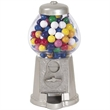 """9"""" Silver Color Gumball Machine - 9"""" Silver Color Gumball Machine."""