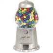"""11"""" Silver Color Gumball Machine - 11"""" Silver Color Gumball Machine."""