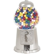 """15"""" Silver Color Gumball Machine - 15"""" Silver Color Gumball Machine."""