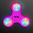 Light Up Pink Fidget Spinner