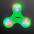 Light Up Green Fidget Spinner