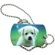Dog Tag - Photo realistic custom dog tag, sublimated heat transferred multicolor piece.