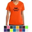 Sport-Tek Ladies' PosiCharge RacerMesh V-Neck Tee - Ladies V-neck t-shirt made from moisture-wicking 100% polyester.