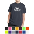 Sport-Tek Youth PosiCharge RacerMesh Tee - Youth t-shirt made from moisture-wicking 100% polyester.