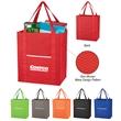 Non-Woven Wave Shopper Tote Bag - Tote bag made from 80-gram non-woven polypropylene.