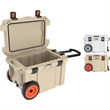 "Pelican™ 45qt Elite Wheeled Cooler - 45-quart cooler with 8 1/2"" wheels and extreme insulation; includes integrated bottle opener."