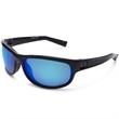 Capture Black Frame Sunglasses w/Polarized Blue Mirror Lens. - Under Armour Capture Black Frame Sunglasses with Polarized Blue Mirror Lens.