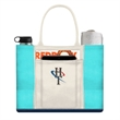 Beach Tote Bag - Beach Tote bag; Large open main compartment; Open pocket on center of front panel;two pock on back side