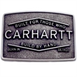 Detroit Buckle - Interchangeable plaque buckle.