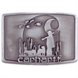 Hunting Buckle - Interchangeable plaque buckle.