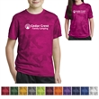 Sport-Tek Youth CamoHex Tee - Youth t-shirt made from 100% polyester interlock.