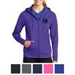 Sport-Tek Ladies' Sport-Wick Fleece Full-Zip Hooded Jacket