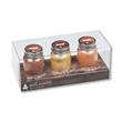 Grill Master Spice Rub Gift Set - Three piece grill spice rub set with spice flavors of Chicken & Poultry, Beef & Burger and Fish & Seafood.