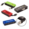 Rondo Type-C USB Hub - USB hub with four type-A USB ports; includes type-A and type-C cables.