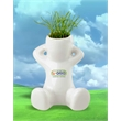 Grow Guy - Our ceramic Grow Guy looks relaxed because growing grass is so simple and quick.
