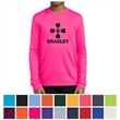 Sport-Tek Youth Long Sleeve PosiCharge Competitor Tee - Youth 3.8 oz. long-sleeve t-shirt made from 100% polyester interlock tee.