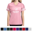Sport-Tek Ladies' PosiCharge Replica Jersey - Women's 3.6 oz., replica jersey made from 100% polyester mesh with PosiCharge technology.