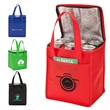 """Track Lunch Sack - 6"""" x 9"""" x 8"""" Track lunch sack with insulated foil lining; includes clear ID window and carrying handles and folds flat."""