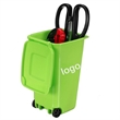 Trash Can and Recycling Mini Storage Bin Pen Holder
