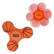 GameTime®  Spinner - Basketball - Basketball themed fidget spinner.