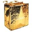 Metallic Gold Shopper Tote Bag