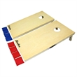 Champions Cornhole Set - Whether it's at a tailgate or a backyard BBQ, this sturdy cornhole set will provide hours of fun. Set contains 2 boards & 8 bags