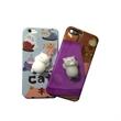 3D Cute Soft Silicone Squishy Cat Phone Case
