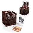 Vino - Harmony - Willow basket with wine and cheese service for two.