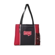 Classic Convention Tote - Classic convention tote bag with side color blocking.