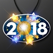 2018 Blinky on Lanyard for New Year's Eve - 2018 Blinky on Lanyard for New Year's Eve, Blank - No Imprint