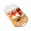 "Elegance Bamboo & Marble Cutting Board - Elegant cutting board made of bamboo and marble that measures 5.25"" x 8.75"" x .5"""