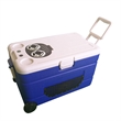 43L capacity rolling cooler with bluetooth speakers - 43L capacity rolling cooler with bluetooth speakers