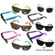 Fashion Sunglasses With Neon Temples - E627 - Fashion sunglasses with ultraviolet protection.