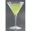 """Rona Martini Glass - 7.5"""" tall 10.25-Ounce stemmed Rona Martini glass with funnel opening, thin stem and wide base. Made in the Czech Republic."""
